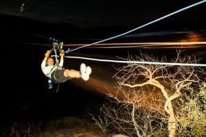 Cabo San Lucas Tortuga Zip Lines Wild Canyon los cabos night time zip line tours moon zipping cabosanlucastours.net