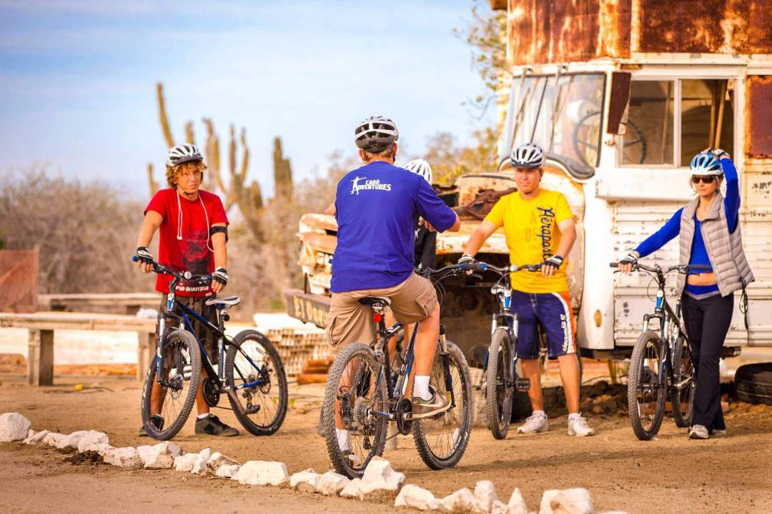 cabo adventures mountain bike tour in los cabos pre-ride instructions