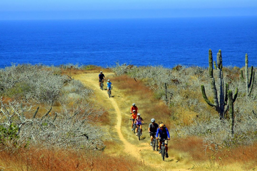 mountain bike riding in Los Cabos