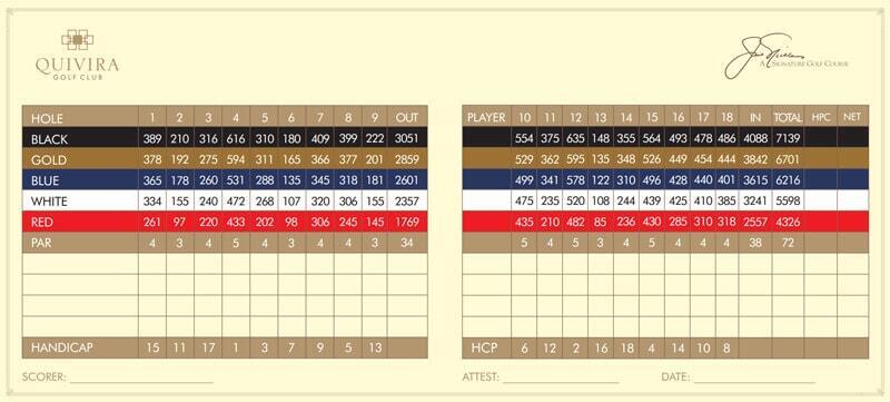 quivira golf course cabo score card los cabos mexico cabo san lucas, pueblo bonito golf course cabo