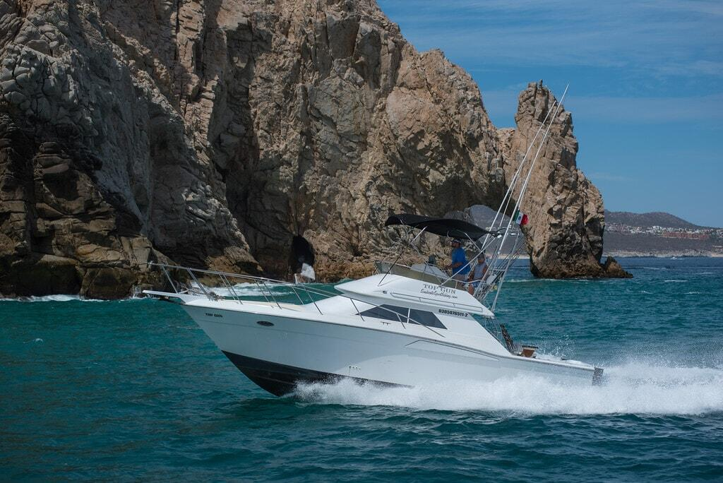 top gun sport fishing los cabos, redrum sportfishing cabos san lucas 33ft wellcraft sportfisher