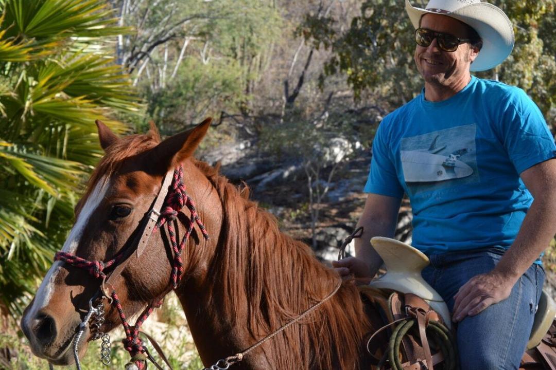 wild canyon the great fandango horseback riding tour man on a horse