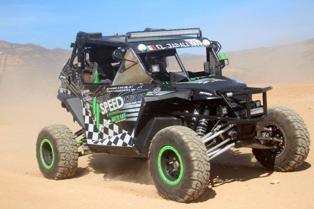 wildcat 1000cc race car at Cactus ATV Tours El Jabali baja sur adventure
