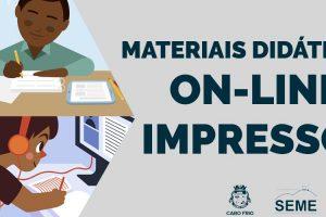 materiais on-line e impressos