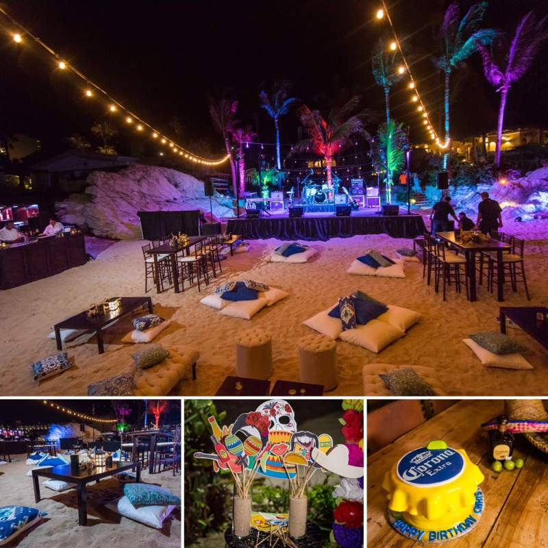 Party Decorations for Events & Weddings in Cabo