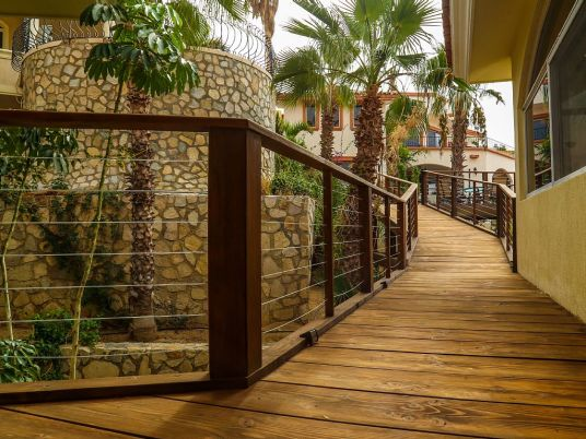 casa gran fiesta in Pedregal Los Cabos decking