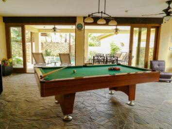casa gran fiesta in Pedregal Los Cabos games room