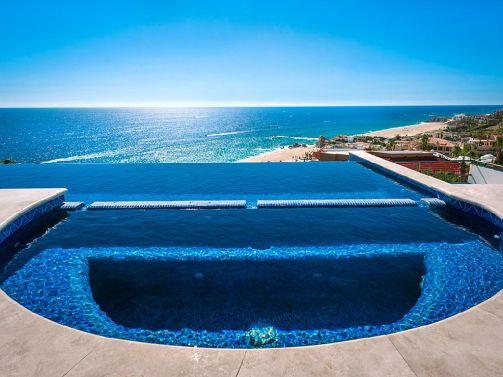 casa theodore in Pedregal los cabos luxury vacation villas cabo san lucas jacuzzi