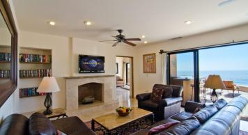 Casa Mega point is one of los cabos most sought after luxury vacation villas for bachelor parties lounge area