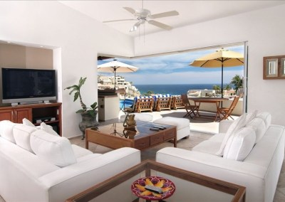 villa del toro rojo pedregal cabo san lucas luxury villa rentals in los cabos lounge with a view