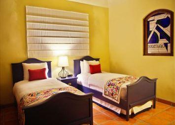 Twin Bedroom in Casa Stamm in Cabo del Sol, Cabo San Lucas Luxury Villa Rentals