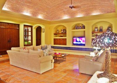 TV Area Casa Stamm in Cabo del Sol, Cabo San Lucas Luxury Villa Rentals
