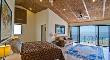 Casa Mega point is one of los cabos most sought after luxury vacation villas for bachelor parties master suite