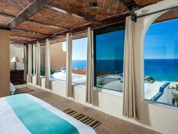casa theodore in Pedregal los cabos luxury vacation villas cabo san lucas suite with view