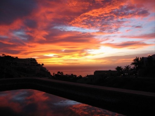 villa del toro rojo pedregal cabo san lucas luxury villa rentals in los cabos sunrise over pool