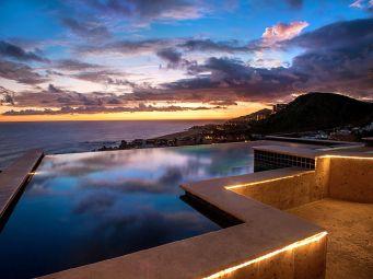 casa theodore in Pedregal los cabos luxury vacation villas cabo san lucas sunset by the pool cabo rental villas
