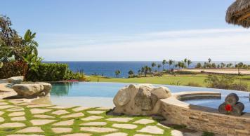 villa damiana los cabos luxury vacation rentals cabo san lucas view from pool