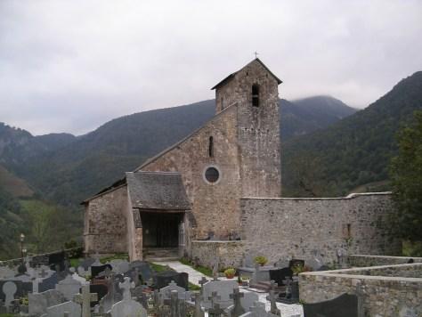 Iglesia del siglo XI en Urdatx Santa Grazi