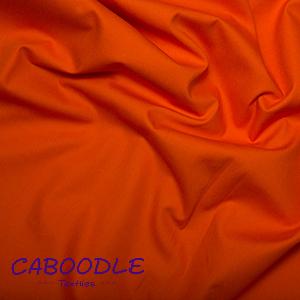 Orange 100% Cotton Poplin Fabric