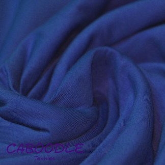 Cobalt Blue - Cotton Lycra Jersey Knit Fabric