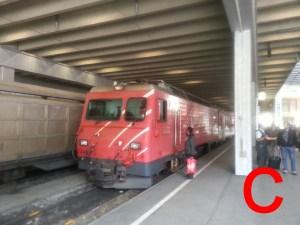 Die HGe 4/4 II als Spezialistin für die Strecke Visp-Zermatt