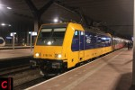 NS 186 015 in Rotterdam CS