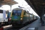 GySEV 470 502 in Budapest