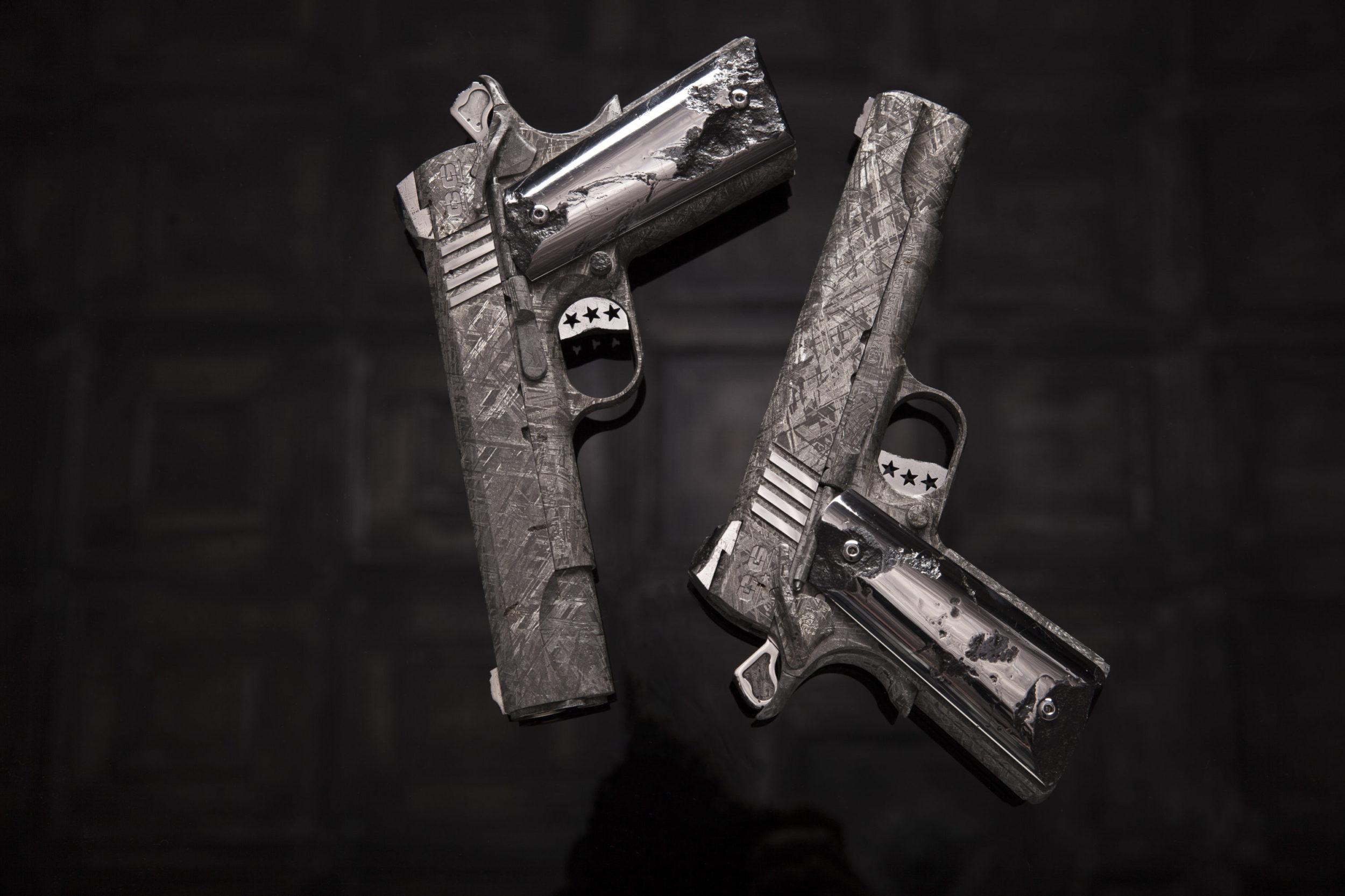 Big Bang Meteorite Custom 1911 Pistol Set