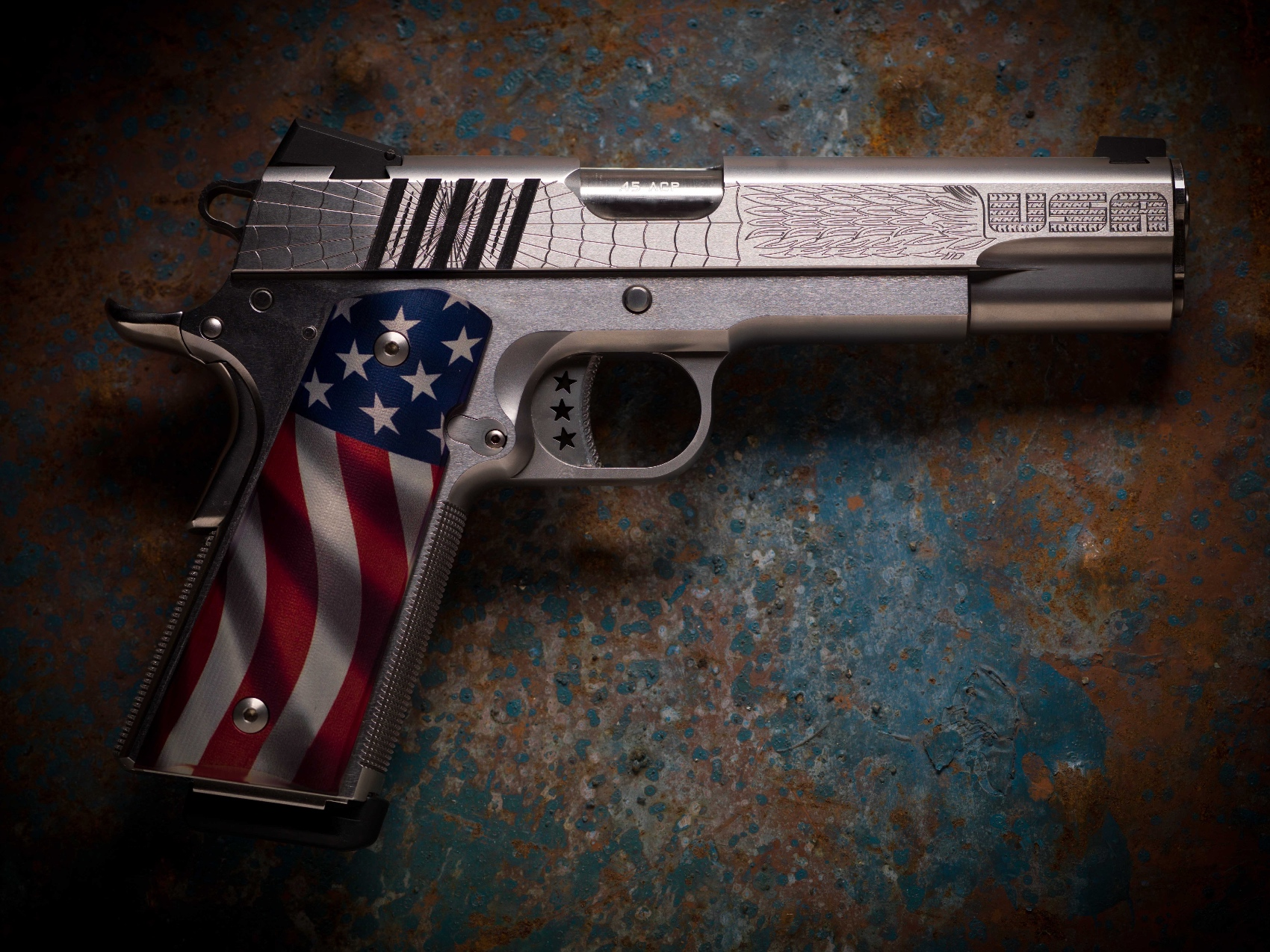 American Joe Flag Grips - Cabot Guns