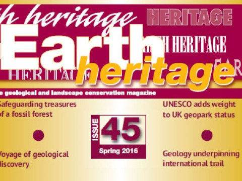 UK Earth Heritage Magazine Features Cabox Aspiring Geopark in 2016 Issue