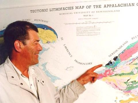 Cabox Commemorates Tectonic Lithofacies Map of the Appalachian Orogen