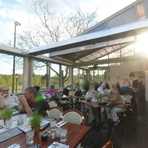 Eden Ave Grill (The Hilltop) and their year round patio