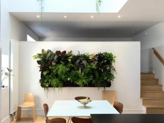 Dining Room Wall Decor Ideas: Vertical Garden - Cabritonyc.com