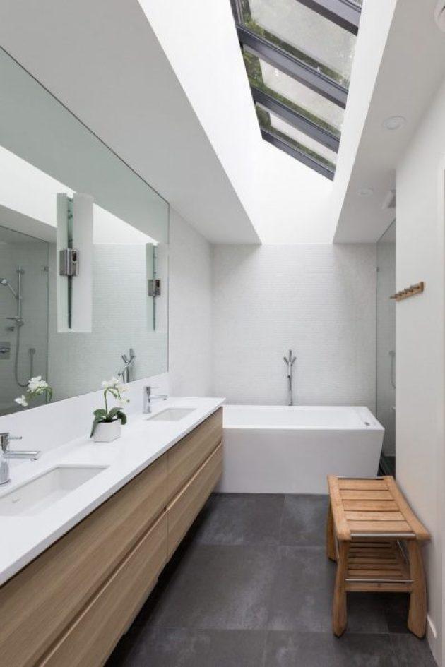 Bathroom Mirror Ideas - A Single Large Mirror 2 - Cabritonyc.com