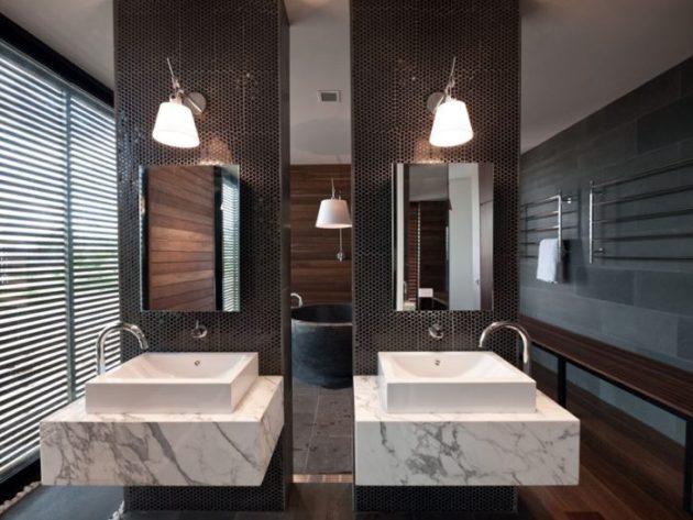 Bathroom Mirror Ideas - Two Rectangular Mirrors 4 - Cabritonyc.com