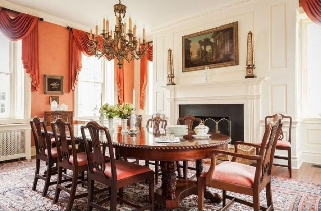 Accent Wall Ideas - Raise Intrigue With Coral - Cabritonyc.com