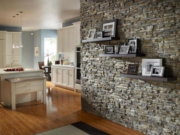 Accent Wall Ideas - Stone - Cabritonyc.com