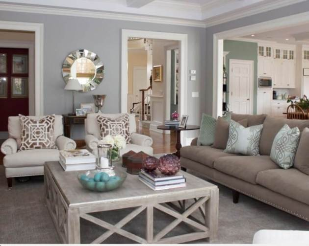 Rustic Chic Living Rooms Ideas - Sueded Soft Wood - Cabritonyc.com