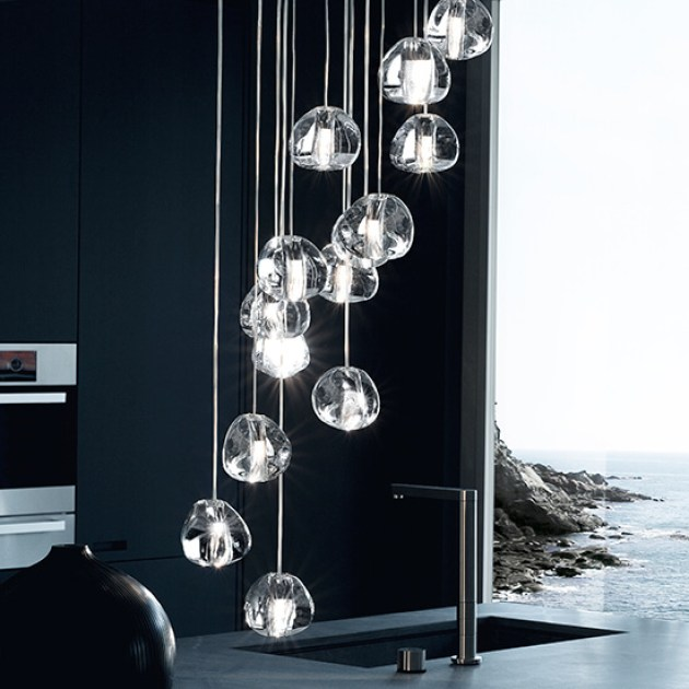 Kitchen Lighting Ideas - Statement Lighting - Cabritonyc.com