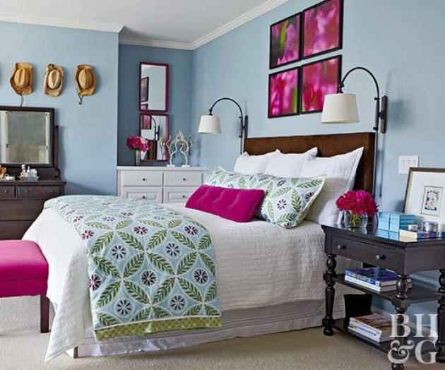 Master Bedroom Decor Ideas - Vibrant and Fun - Cabritonyc.com