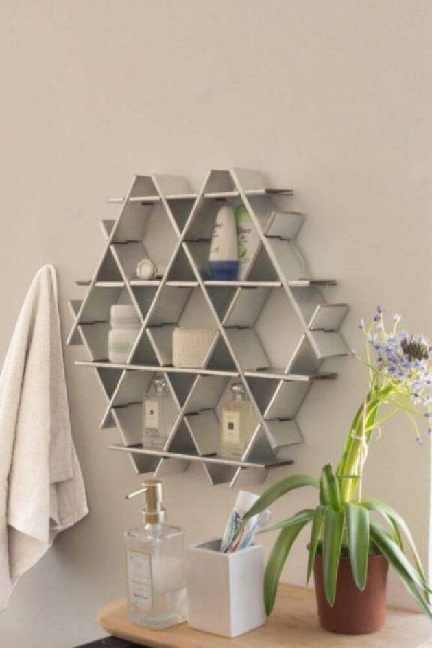 Bathroom Organizing Ideas 12 Functional Wall Decor
