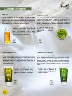 Catálogo productos Irati Organic PVP-03