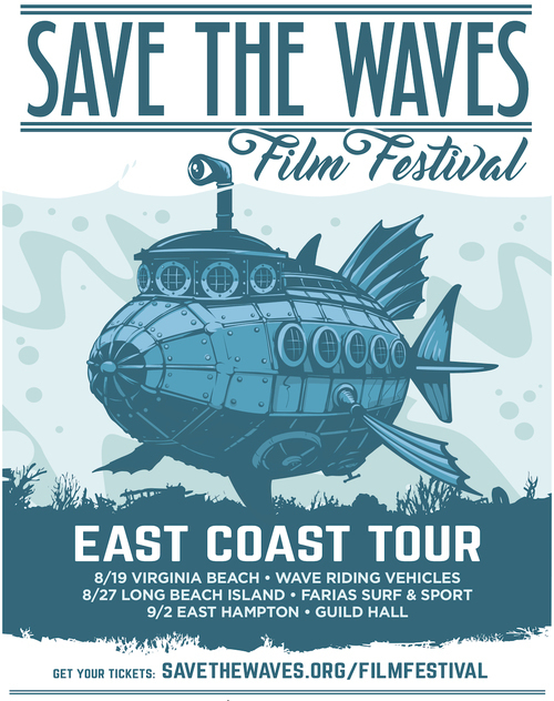 Save the Waves Film Festival @ Guild Hall