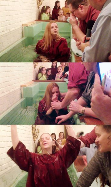 Shelly's Baptism