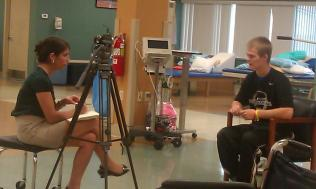 Zach-Miracle-112-Zach-interviewed-by-WBOY-channel-12-at-HealthSouth