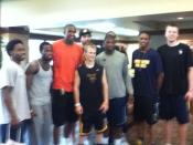 Zach-Miracle-59-Zach-with-WVU-Basketball-Team-at-HealthSouth-2012-07-19