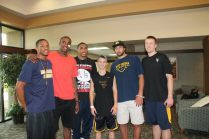 Zach-Miracle-77b-Zach-with-WVU-Basketball-Team-at-HealthSouth-2012-07-19