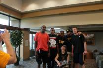 Zach-Miracle-78-Zach-with-WVU-Basketball-Team-at-HealthSouth-2012-07-19
