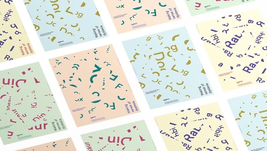 設計者創建字體,以幫助我們更好理解閱讀障礙|cacao 可口雜誌