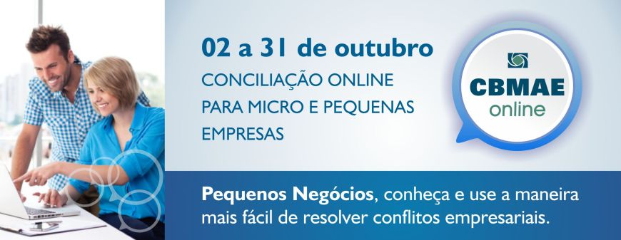 CBMAE promove mutirão de conciliação online em comemoração ao Dia Nacional da Micro e Pequena Empresa CACB